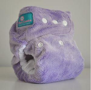 Imaginea Grape Purple Minky One Size