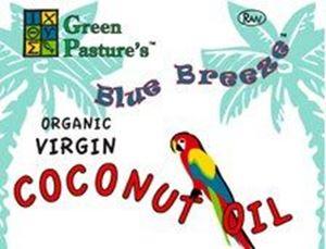 Imaginea BLUE BREEZE™ Organic Virgin Coconut Oil - 1 Galon - ulei virgin din nuca de cocos